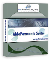 Screenshot for AblePayments Suite for AbleCommerce 1.5