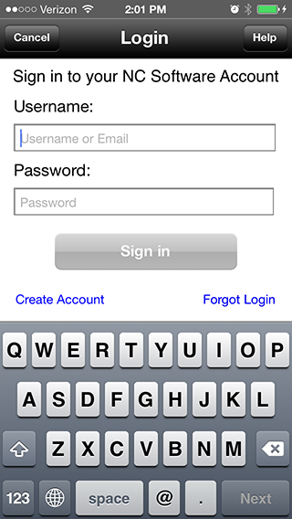 Logbook Pro Mobile for iOS Sign In Improvements