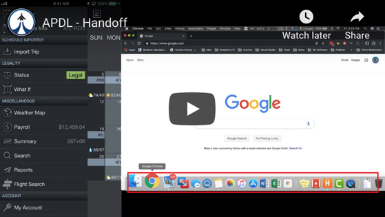 APDL Reports - Handoff Feature